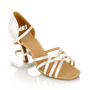 Immagine di H860-X Kalahari Xtra | White Satin | Ladies Latin Dance Shoes