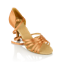 Obrazek 865-X Selene Xtra | Light Tan Satin  | Latin Dance Shoes