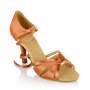 Immagine di 884-X Aura Xtra | Dark Tan Satin  | Latin Dance Shoes