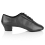 Imagen de Ash | Black Leather  | Men's Latin Dance Shoe