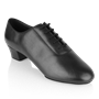 Obrazek Ash | Black Leather  | Men's Latin Dance Shoe