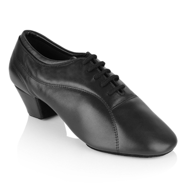 Imagen de BW111 Bryan Watson | Black Leather  | Latin Dance Shoes