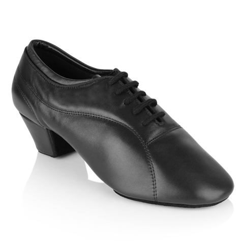 Bild von BW111 Bryan Watson | Black Leather  | Latin Dance Shoes
