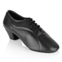 Immagine di BW111 Bryan Watson | Black Leather  | Latin Dance Shoes