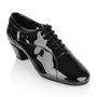 Imagen de BW111 Bryan Watson | Black Patent | Latin Dance Shoes