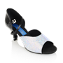 Picture of Pegasus - White-Silver Lustre/Black Patent | Sale