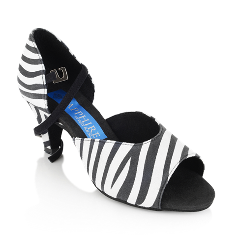 Bild von Pegasus - Zebra Print Leather/Black Nubuck