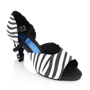Picture of Pegasus - Zebra Print Leather/Black Nubuck