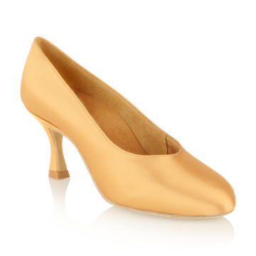 Picture of 106A Landslide | Flesh Satin | Standard Ballroom Dance Shoes