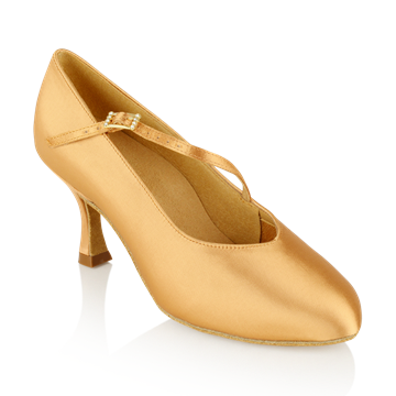 Immagine di 116A Rockslide | Flesh Satin | Standard Ballroom Dance Shoes