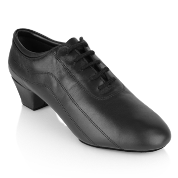 Immagine di 447 Zephyr | Black Leather | Latin Dance Shoes | Sale