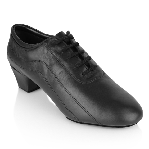 Obrazek 447 Zephyr | Black Leather | Latin Dance Shoes | Sale