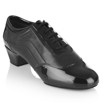 Imagen de H465 Halo | Black Patent/Leather | Latin Dance Shoes | Sale
