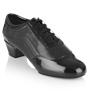 Bild von H465 Halo | Black Patent/Leather | Latin Dance Shoes | Sale