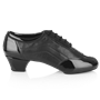 Obrazek H465 Halo | Black Patent/Leather | Latin Dance Shoes | Sale