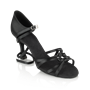 Picture of 820-X Blizzard Xtra | Black Satin | Ladies Latin Dance Shoes | Sale