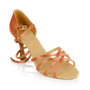 Obrazek 835-X Monsoon Xtra | Dark Tan Satin | Ladies Latin Dance Shoes | Sale