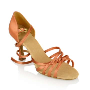 Imagen de 879 Amazon | Dark Tan Satin | Sale