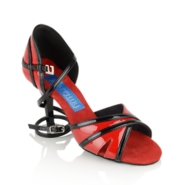 Picture of Aurora - Red/Black Patent