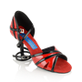 Obrazek Aurora - Red/Black Patent