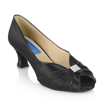 Immagine di Crocus - Black Satin/Patent