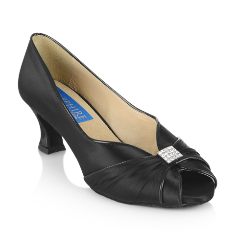 Picture of Crocus - Black Satin/Patent