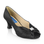 Obrazek Crocus - Black Satin/Patent | Sale