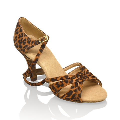 Picture of 884-X Aura Xtra | Leopard Print | Latin Dance Shoes | Sale