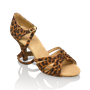 Obrazek 884-X Aura Xtra | Leopard Print | Latin Dance Shoes | Sale