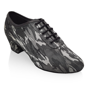 Obrazek H460 Thunder | Grey Camouflage | Latin Dance Shoes | Sale