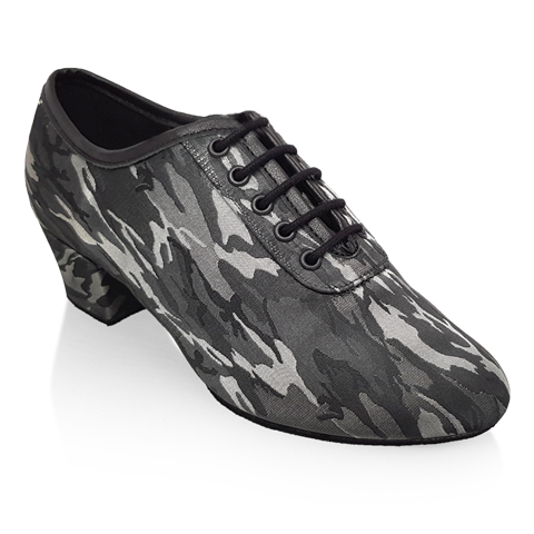 Imagen de H460 Thunder | Grey Camouflage | Latin Dance Shoes | Sale