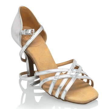 Picture of H860-X Kalahari Xtra | Silver (Reflective) | Ladies Latin Dance Shoes