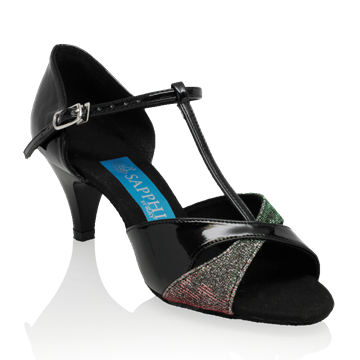 Bild von Gemini - Black Patent/Red-Green Pearl | Sale