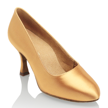 Imagen de 101A Polar | Flesh Satin | Standard Ballroom Dance Shoes | Sale