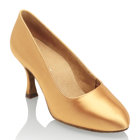 Picture of 101A Polar | Flesh Satin | Standard Ballroom Dance Shoes | Sale
