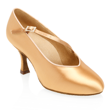 Bild von 185A Sinai | Flesh Satin | Standard Ballroom Dance Shoes | Sale