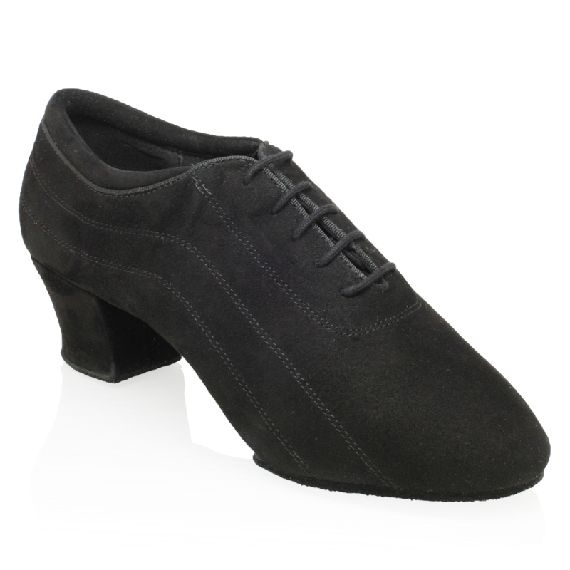 H447 Zephyr | Black Nappa Suede Leather