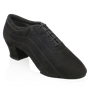 Picture of H447 Zephyr | Black Nappa Suede Leather | Latin Dance Shoes
