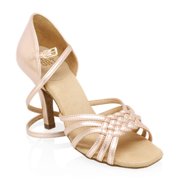 Immagine di H869-X Moonglow Xtra | Rose Gold | Ladies Latin Dance Shoes