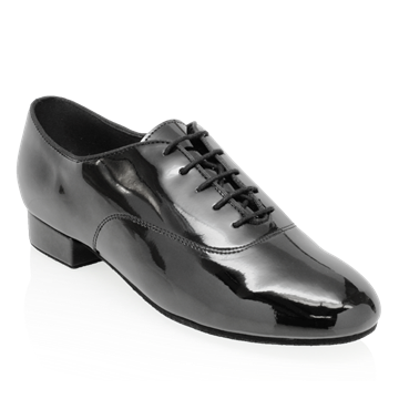 Immagine di Pine | Black Patent  | Men's Ballroom Dance Shoe