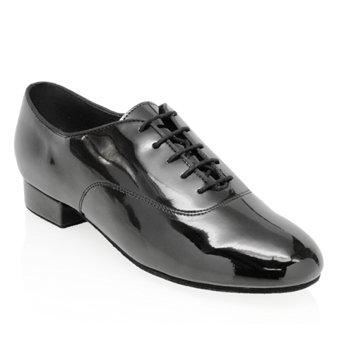 Bild von Pine | Black Patent  | Men's Ballroom Dance Shoe