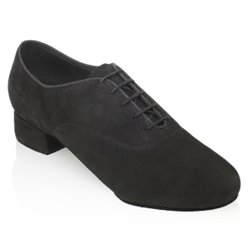 Obrazek 335  Windrush | Black Nappa Suede Leather | Standard Ballroom Dance Shoes