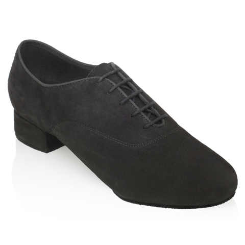 Bild von 335  Windrush | Black Nappa Suede Leather | Standard Ballroom Dance Shoes