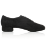 Imagen de 335  Windrush | Black Nappa Suede Leather | Standard Ballroom Dance Shoes