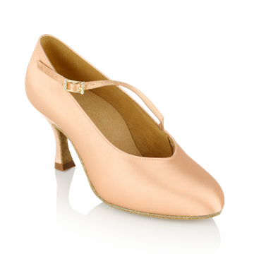 Bild von 116A Rockslide | Light Flesh - Slim Heel | Standard Ballroom Dance Shoes | Sale