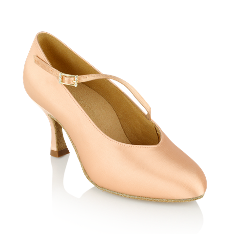 Imagen de 116A Rockslide | Light Flesh - Slim Heel | Standard Ballroom Dance Shoes | Sale