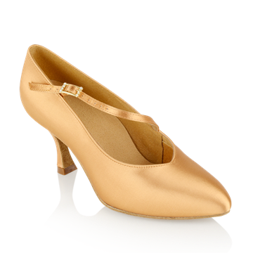 Obrazek 119A Nimbus | Flesh Satin - Clearance | Standard Ballroom Dance Shoes | Sale