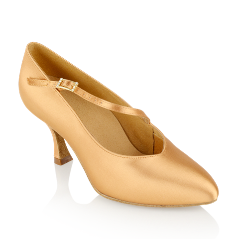 Imagen de 119A Nimbus | Flesh Satin - Clearance | Standard Ballroom Dance Shoes | Sale