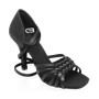 Bild von H869-X Moonglow Xtra | Black Satin | Ladies Latin Dance Shoes