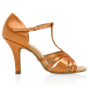 Picture of 816-X Medusa | Light Tan Satin | Ladies Latin Dance Shoes